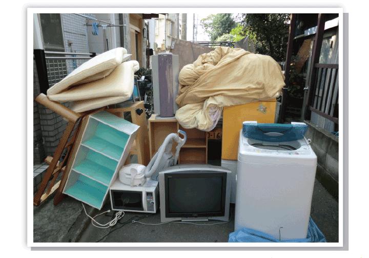 粗大ごみ回収の事例